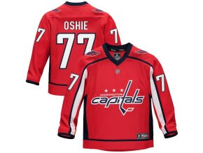 Dětský Dres #77 T.J. Oshie Washington Capitals Replica Home Jersey