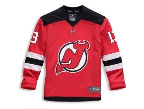 Dětský Dres #13 Nico Hischier New Jersey Devils Replica Home Jersey