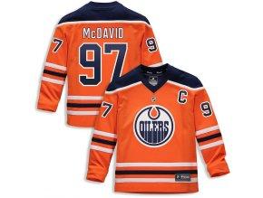 Dětský Dres #97 Connor McDavid Edmonton Oilers Replica Home Jersey
