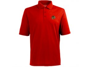 Tričko Chicago Blackhawks Pique Xtra-Lite Polo Red