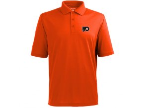 Tričko Philadelphia Flyers Pique Xtra-Lite Polo Orange