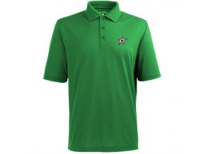 Tričko Dallas Stars Pique Xtra-Lite Polo Kelly Green