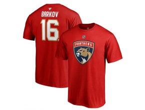 Tričko #16 Aleksander Barkov Florida Panthers Stack Logo Name & Number