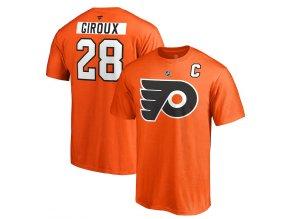 Tričko #28 Claude Giroux Philadelphia Flyers Stack Logo Name & Number