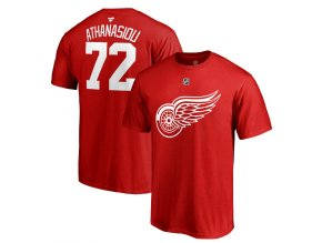 Tričko #72 Andreas Athanasiou Detroit Red Wings Stack Logo Name & Number