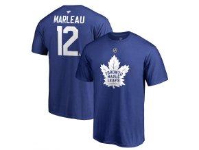 Tričko #12 Patrick Marleau Toronto Maple Leafs Stack Logo Name & Number