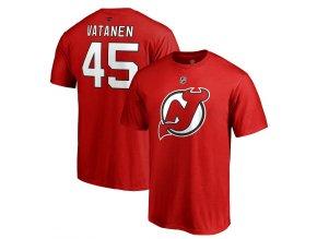 Tričko #45 Sami Vatanen New Jersey Devils Stack Logo Name & Number