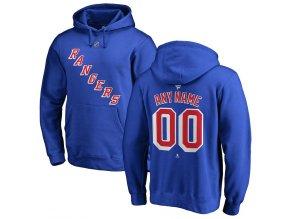 Mikina New York Rangers Custom Team Authentic