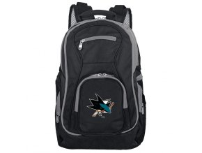 Batoh San Jose Sharks Trim Color Laptop Backpack
