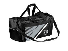 Sportovní Taška Los Angeles Kings Border Stripe Duffel Bag