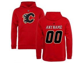 Dětská Mikina Calgary Flames Custom Team Authentic