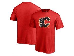 Dětské Tričko Calgary Flames Splatter Logo