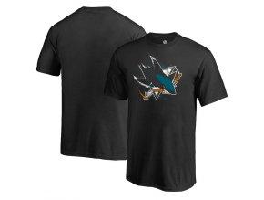 Dětské Tričko San Jose Sharks Splatter Logo