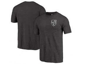 Tričko Los Angeles Kings Primary Logo Left Chest Distressed Tri-Blend