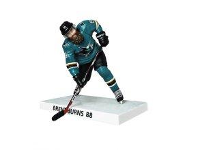 Figurka #88 Brent Burns San Jose Sharks Imports Dragon Player Replica