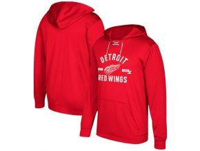 Mikina Detroit Red Wings Misconduct Performance Fleece Hood