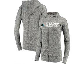 Dámská Mikina San Jose Sharks Reciever Full-Zip Hoodie