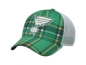 Kšiltovka St. Louis Blues Adidas St. Patrick's Day Trucker
