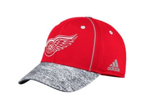 Kšiltovka Detroit Red Wings Adidas Alpha Flex