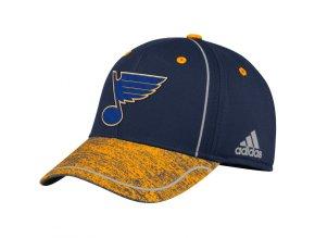 Kšiltovka St. Louis Blues Adidas Alpha Flex