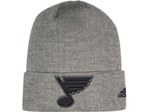 Zimní Čepice St. Louis Blues Adidas India Cuffed Knit