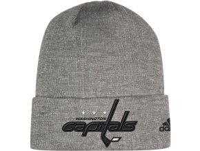 Zimní Čepice Washington Capitals Adidas India Cuffed Knit