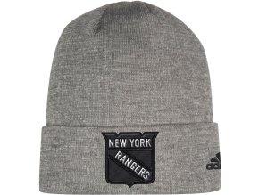 Zimní Čepice New York Rangers Adidas India Cuffed Knit