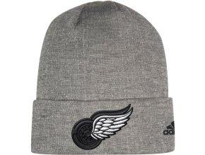 Zimní Čepice Detroit Red Wings Adidas India Cuffed Knit