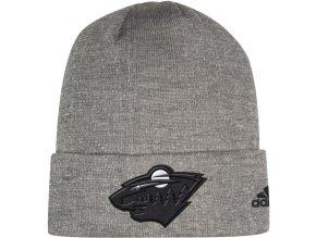 Zimní Čepice Minnesota Wild Adidas India Cuffed Knit