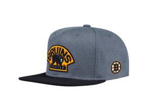 Kšiltovka Boston Bruins Adidas Heather Snapback