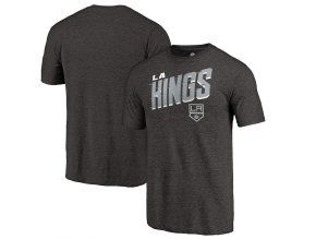 Tričko Los Angeles Kings Slant Strike Tri-Blend
