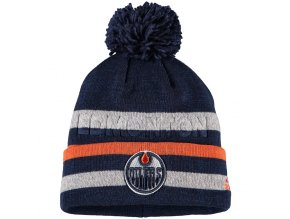 Zimní Čepice Edmonton Oilers Adidas Juliet