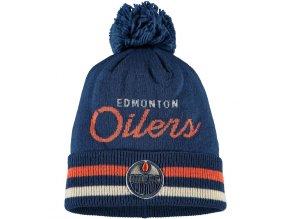 Zimní Čepice Edmonton Oilers Adidas Culture