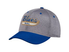 Kšiltovka St. Louis Blues Adidas Culture Two Tone Felt Flex