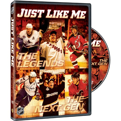 Warner Home Video DVD - Just Like Me: Profile of NHL Legends and the New Crop of NHL Stars DVD