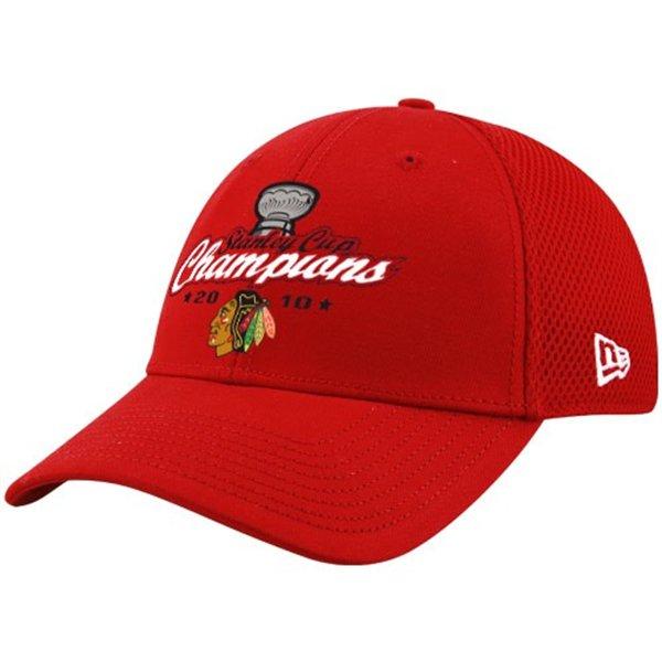New Era Kšiltovka - Chicago Blackhawks Red 2010 NHL Stanley Cup Champions Neo 2 Velikost: L/XL