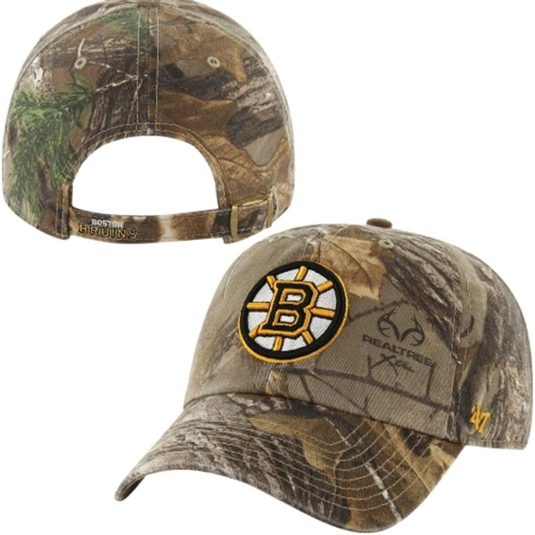 47 Brand Kšiltovka Boston Bruins Realtree Camo