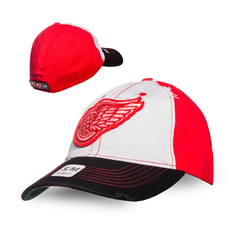 Kšiltovka Detroit Red Wings CCM Flex slouch Velikost: S/M