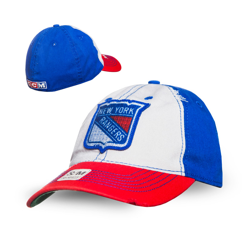 Kšiltovka New York Rangers CCM Flex slouch Velikost: S/M