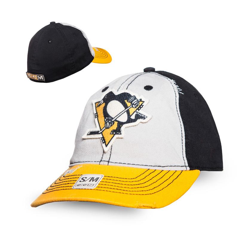 Kšiltovka Pittsburgh Penguins CCM Flex slouch Velikost: S/M