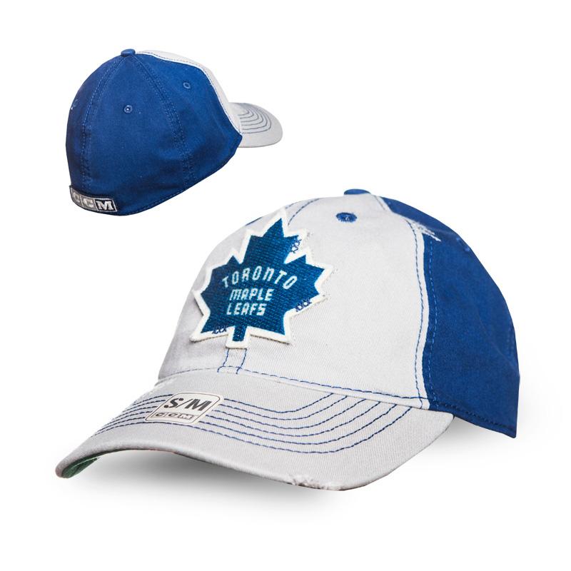 Kšiltovka Toronto Maple Leafs CCM Flex slouch Velikost: S/M