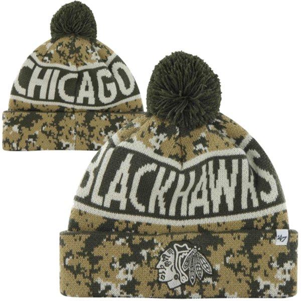 47 Brand NHL kulich Chicago Blackhawks Digital Camo