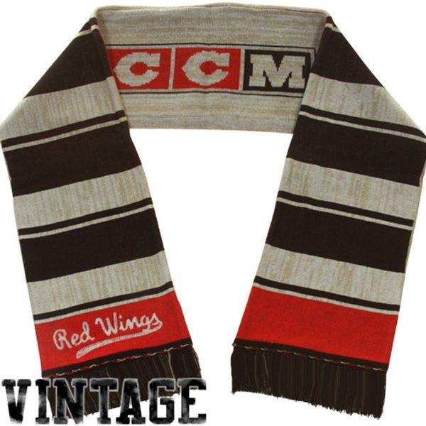 CCM šála - Vintage Icicle - Detroit Red Wings