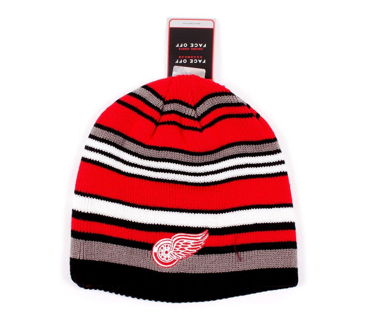 Reebok Čepice Detroit Red Wings Cuffless