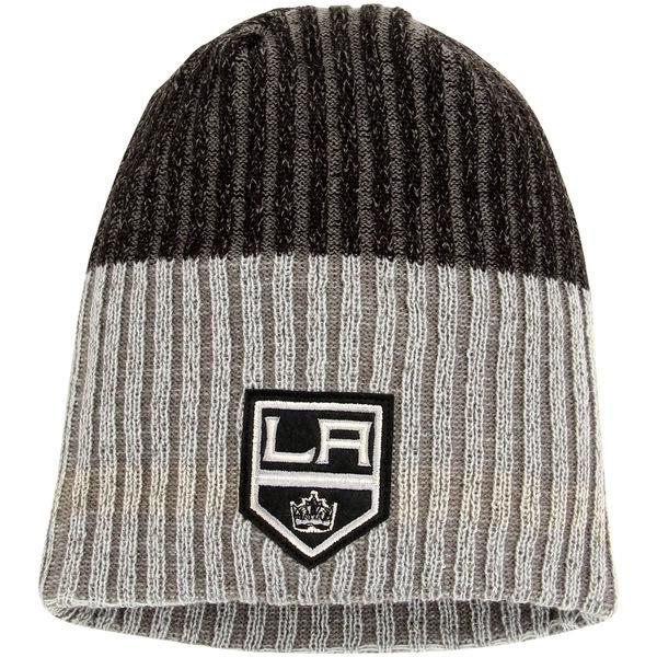 Zimní čepice Los Angeles Kings Reebok Face-Off Heathered Knit Beanie