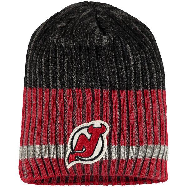 65fcb60da08 Zimní čepice New Jersey Devils Reebok Face-Off Heathered Knit Beanie