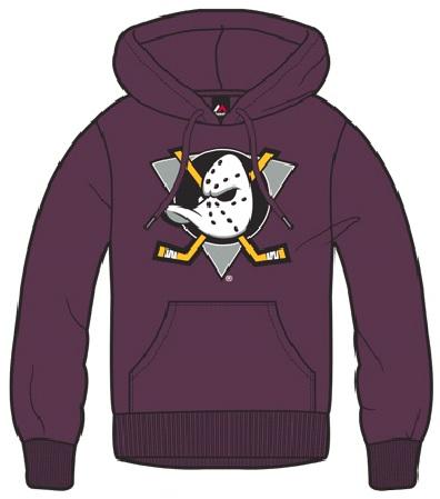 Dětská mikina Anaheim Ducks Majestic Ning Hoody Velikost: 8-9 let