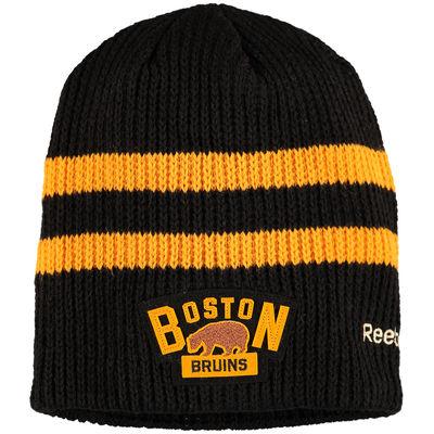 Reebok Zimní Čepice Boston Bruins Winter classic Beanie - Černá 8f1a70569f
