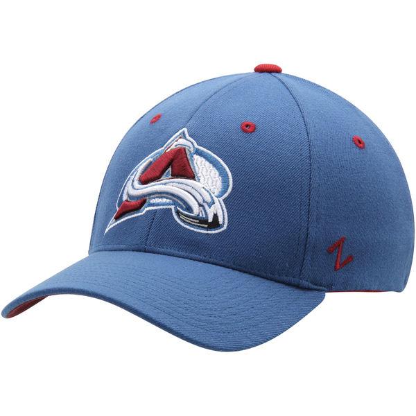 Kšiltovka Colorado Avalanche Zephyr Breakaway Flex modrá Velikost: S