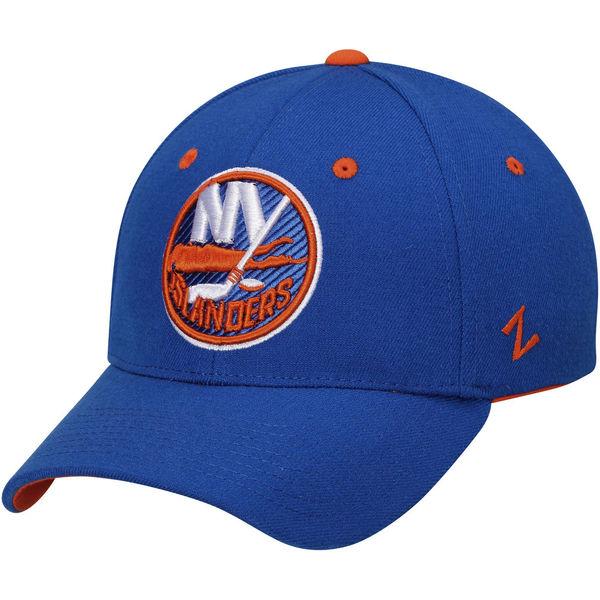 Kšiltovka New York Islanders Zephyr Breakaway Flex modrá Velikost: S